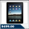 Apple iPad 2 with Wi-Fi (Black, 16GB) & VUDU Movie Credit $499.00