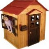Weather-Resistant Wooden KidKraft Outdoor Playhouse for $200 + Shipping