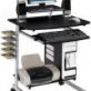 Techni Mobili Rolling Space-Saving Computer Desk for $49 + Shipping