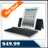 Logitech 920003241 Tablet Keyboard for iPad 1 & 2 for $49.99