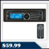 Dual XD6150 CD Receiver – Auxiliary Input, 200 Watts Peak, Front Panel USB Port, Remote Control $59.99