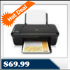 HP Deskjet 3050a ePrint Inkjet All-In-One Printer, Copier, Scanner for $69.99