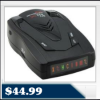 Whistler XTR-145 Radar Detector &#8211; Total Band Protection, 12 Volts, Tone Alerts, Icon Display $44.99
