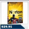 Norton™ AntiVirus 2011 1 User / 3 PCs – 21069978 $29.95