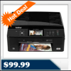 Brother MFC-J825dw Wireless Inkjet All-In-One Printer for $99.99