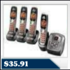 Uniden DECT1480-4-R Refurbished Cordless Phone System $35.91