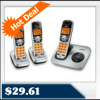 Uniden DECT1560-3-R Cordless Phone with Caller ID $29.61