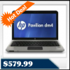 HP Pavilion dm4-2070us Laptop Intel Core i5 2.3 GHz, 6GB RAM, 14-inch LED-Backlit, 640GB for $579.99
