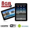 SVP 7.0 Touch Panel WiFi Android 2.2 Tablet PC & Mobile Internet Device w/ 8GB microSD Bundled – $99.99