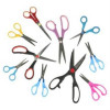 10 pc Scissor Set Home Office Kitchen Sewing Craft Paper Various Sizes Unique – $9.99