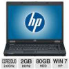 HP Compaq 8510w Intel Core 2 Duo 2.0GHz, 2GB RAM, 80GB, 15.4-inch Refurb for $249.99