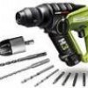 Rockwell H3 12V Lithium-Ion 1/4 inch Hex Cordless Rotary Hammer Drill for $90 + Shipping