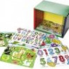 Melissa & Doug Wooden Puzzle Bundle + Wooden Storage Case for $50 + Shipping