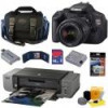 Canon Rebel T3i DSLR Camera, Pro9000 Printer, Starter Kit for $500 + Shipping