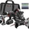 Porter-Cable 4-Tool 18-Volt NiCad Cordless Combo Kit for $129 + Shipping
