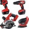 SKIL 18V Cordless 4-Tool Combo Kit + Drill/Driver, Saw & More for $120 + Shipping