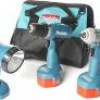Makita Cordless 14.4V Drill, Impact Wrench & Flashlight Combo Set for $190 + Shipping