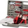 Fine Life 35-Piece Roadside Emergency Kit + Jumper Cables & Case for $15 + Shipping
