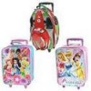 Disney 15 inch Rolling Carry-on Luggage (Cars, Fairies, Princesses) for $15 + Shipping
