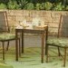 Hometrends Tropical Palm 3-Piece Outdoor Bistro Set, Green for $98 + Shipping