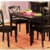 Mason 5-Piece Cross-Back Dining Set (Black) for $199 + Shipping