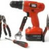 Black & Decker 47-Piece Project Kit + Cordless Drill & More for $30 + Shipping