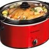 Hamilton Beach 5-Quart Portable Slow Cooker in Red or Silver for $20 + Shipping