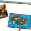 Melissa & Doug Floor Puzzle Bundle (ABCs, Solar System, USA Map) for $25 + Shipping