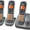 Uniden DECT 6.0 Digital 3-Handset Cordless Phone + Answering for $38 + Shipping