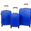 Jeep 3-Pc Hardside Luggage Set – Blue for $149.99