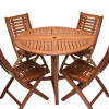 Outdoor Interiors 5-pc Folding Table and Chairs Set for $409.99