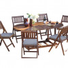 Outdoor Interiors 7-pc Fold & Store Patio Furniture Set for $749.99