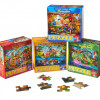 Classic 35-Piece Puzzle 4-Pack Bundle for $9.99