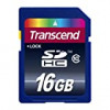 Transcend TS16GSDHC10 16 GB SDHC Class 10 Flash Memory Card for $11.88 + Shipping