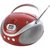 Coby CX-CD241 Portable CD Player with AM/FM Stereo Tuner (Red) for $26.42 + Shipping