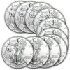 2013 1 oz Silver American Eagle (Lot of 10) for $243.99