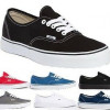 Vans &#8211; Authentic Canvas &#8211; Men&#8217;s Shoe for $35.99