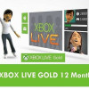 Xbox 360 LIVE 12 Month Gold Membership Card Subscription – NEW! for $48.99