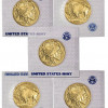 Lot of 5 – 2013 $50 1 Ounce 24kt Gold American Buffalo – US Mint Sealed SKU27679 for $7459.03