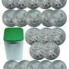 ROLL OF 20 – 2013 1 Oz Silver American Eagle $1 Coins SKU27335