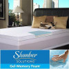 Slumber Solutions Gel Select 3-inch Queen/ King-size Memory Foam Mattress Topper for $152.99
