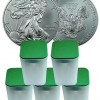 5 Rolls-100 Oz 2013 1 Oz Silver American Eagle $1 Coins SKU27336 for $2704.74