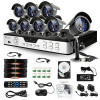 ZMODO 8 CH Surveillance Security DVR Outdoor IR Camera System 3G Net Access 1TB for $309.09