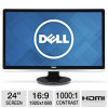 Dell ST2421L 24″ Class Widescreen LED Monitor – 1920 x 1080, 16:9, 7000000:1 Dynamic, 60Hz, 5ms, HDMI, DVI, VGA, Energy …