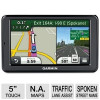 Garmin nuvi 2555LMT Auto GPS &#8211; 5&#8243; Touchscreen, MicroSD Slot Card, Spoken Streets Names, Custom POIs, Lifetime Maps, Life&#8230;