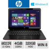 HP ENVY 6z-1100 Sleekbook – AMD Dual-Core A6 2.1GHz, 4GB DDR3, 320GB HDD, AMD Radeon HD 7500G, 15.6″ Display, Windows 8 …