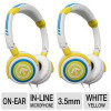 (2-Pack) Aerial7 Phoenix Citron On-Ear Headphones Bundle for $17.99