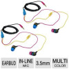(2-Pack) Aerial7 SUMO Storm Earbuds – 20Hz-20kHz, 10mm Drive, 3.5mm Jack, In-line Mic, Stereo, Multi-Color (Available in…