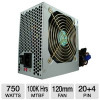 Kingwin Maximum Series 750W ATX Power Supply – 120mm Fan, Single +12V Rail for $44.99