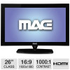 MAG 26″ Class LED Monitor – 1920 x 1080, 16:9, 1000:1 Native, 8ms, HDMI, DVI, VGA for $169.99